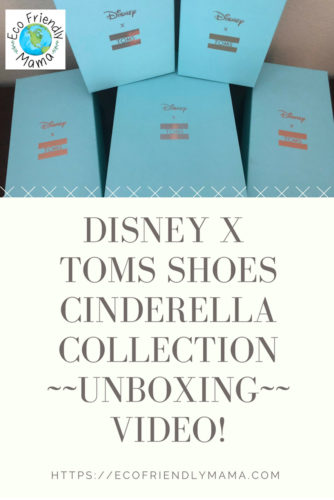 8a267bce10f Unboxing Video  The Disney x TOMS Shoes Cinderella Collection