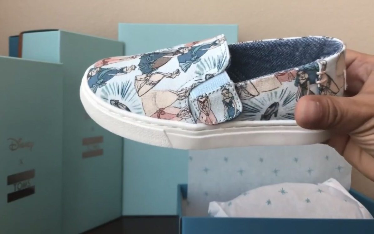 Unboxing The Disney X Toms Shoes Cinderella Collection